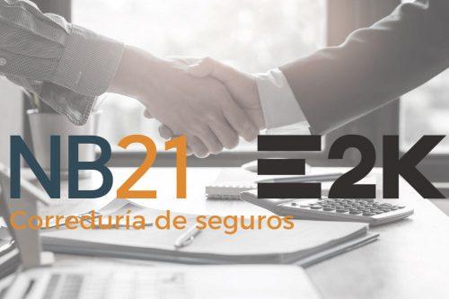NB21 se integra en la red E2K. Noticias de seguros