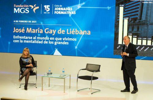 Fundación MGS organiza una conferencia de Gay de Liébana. Noticias de seguros