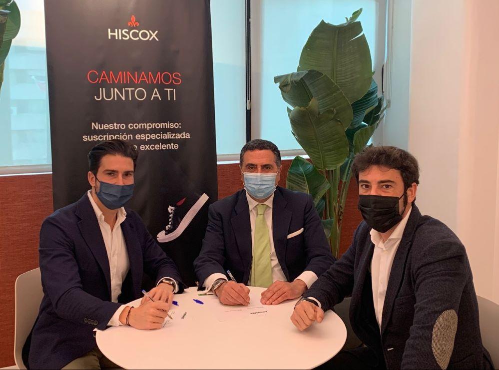 Hiscox renueva con Apromes. Noticias de seguros