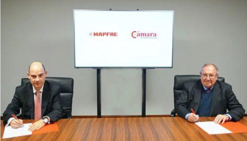 Mapfre firma un acuerdo con Cámara e Conercio de España. Noticias de seguros