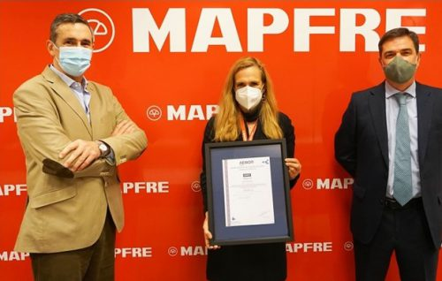Mapfre certificación AENOR. Noticiasd e seguros