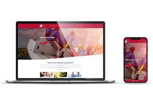 Markel nueva web. Noticias de seguros