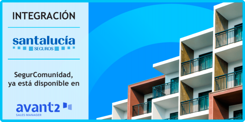 Avant2 Sales Manager integra el seguro de comunidades de Santalucía. Noticias de seguros