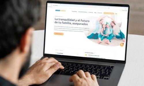 ASISA Vida renueva su web. Noticias de seguros