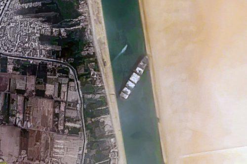 El Canal de Suez bloqueado por el portacontenedores Ever Given. Noticias de seguro