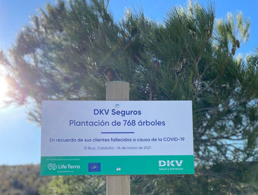 Bosque conmemorativo de DKV Seguros. Noticias de seguros