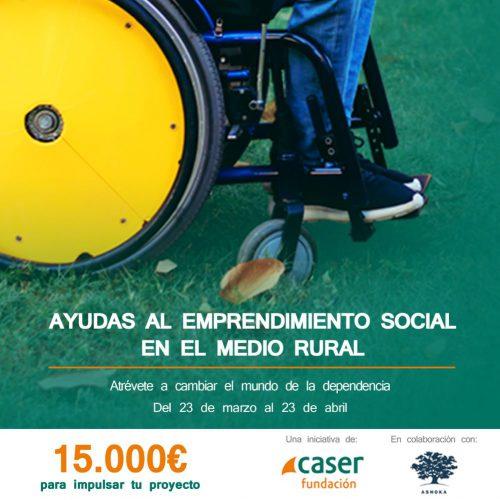 Fundación Caser busca emprendedores rurales. Noticias de seguros