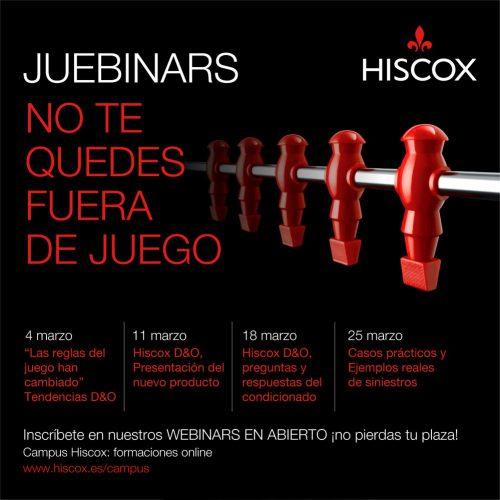 Hiscox seguros de D&O. Noticias de seguros