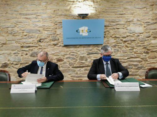 Fundación Inade firma un acuerdo con la CEG. Noticias de seguros