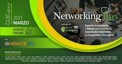 Networking Days de Newcorred. Noticias de seguros