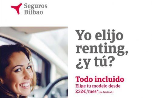 Seguro de renting de Seguros Bilbao. Noticias de seguros