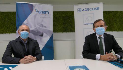 Sham firma un acuerdo con ADECOSE. Noticias de seguros
