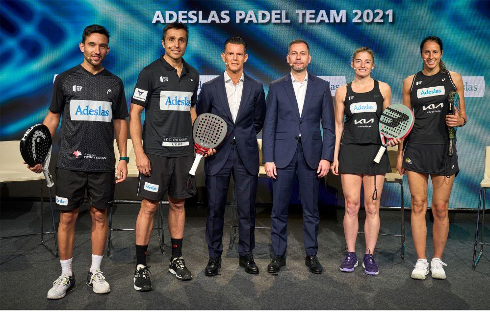 Adeslas Pádel Team. Noticias de seguros