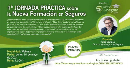 Campus del Seguro rsulve las dudas sobre formación. Noticias d seguros