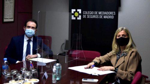 Caser renueva con el Colegio de Madrid. Noticias de seguros