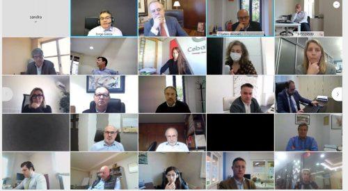 Cojebro celebra una reunión virtual con Generali. Noticias de seguros
