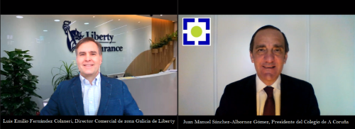 Liberty firma con el Colegio de A Coruña. Noticias de seguros