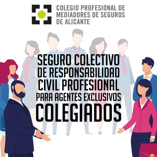 Seguro de RC para los agentes del Colegio de Alicante. Noticias de seguros