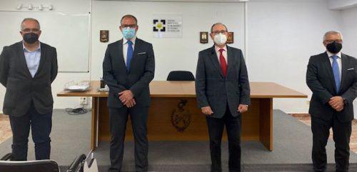 Unión Alcoyana renueva con el Colegio de Castellón. Noticias de seguros