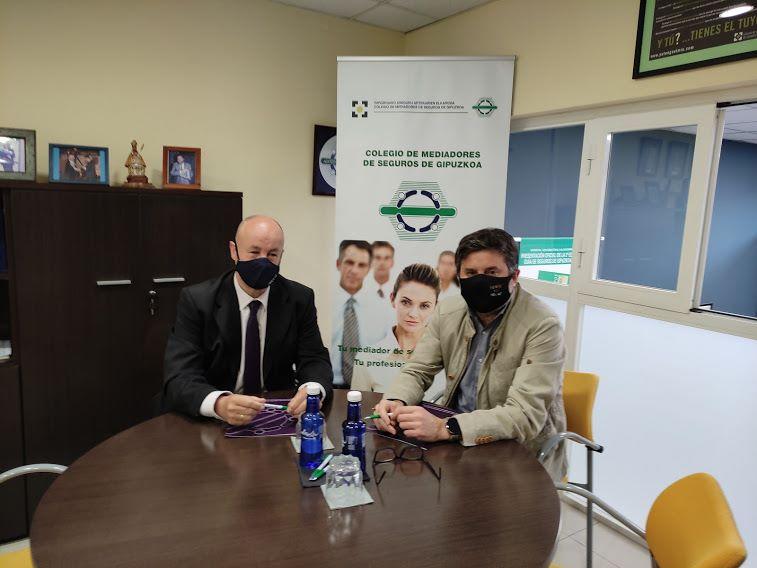 FIATC renueva su apoyo al Colegio de Gipuzkoa. Noticias de seguros