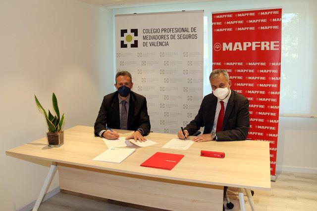 Mapfre renueva con el Colegio de Valencia. Noticias de seguros
