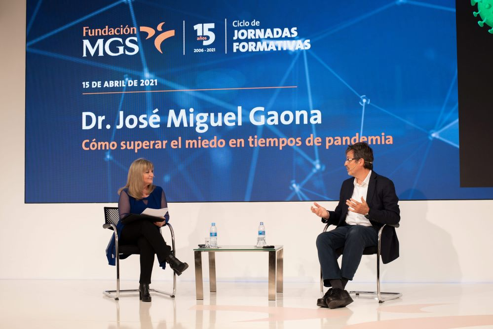 Fundación MGS cpn el Dr. José Miguel Gaona. Noticias de seguros