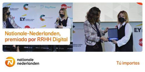 Nationale-Nederlanden recibe un premio de RRHH Digital. Noticiasd e seguros