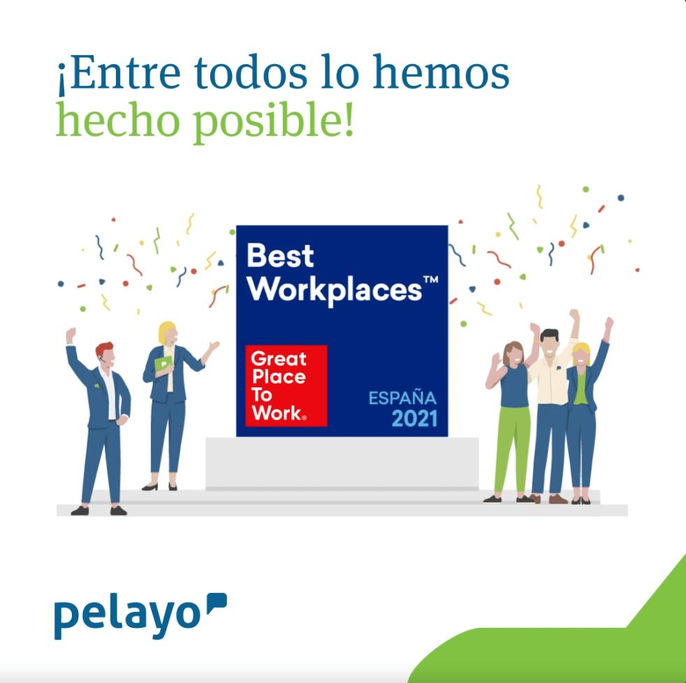 Pelayo y Great Place to Work. Noticias de seguros