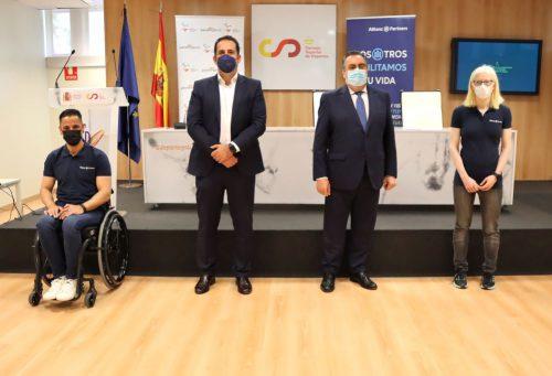 Allianz Partners apoya al COmité Paralímpico Español. Noticias de seguros