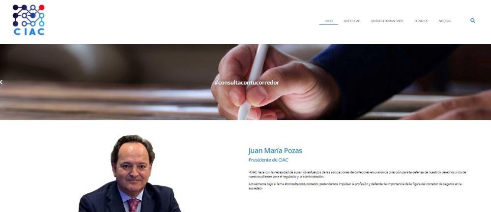CIAC estrena su nueva página web. Noticias de seguros.
