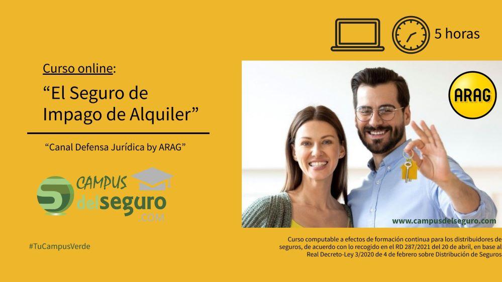 Nuevo curso de ARAG en Campus del Seguro. Noticias de seguros