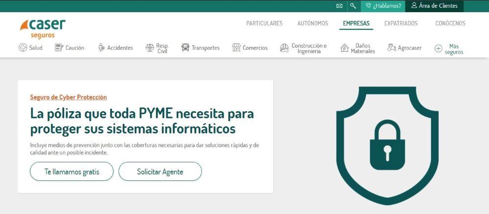 Caser Cyber Protección. Noticias de seguros.
