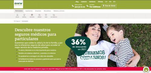 DKV estrena nueva web comercial. Noticias de seguros