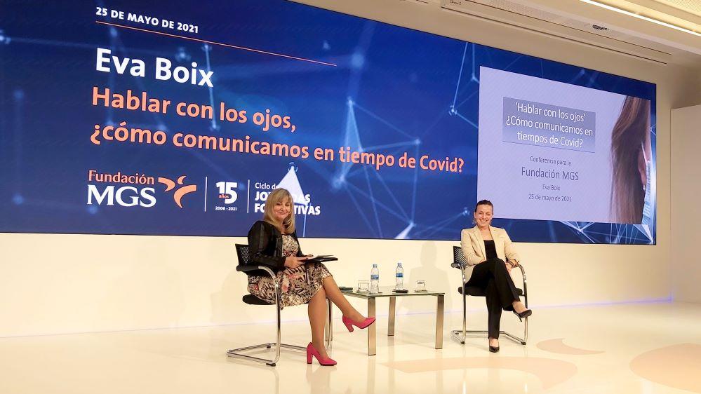 Eva Boix en la jornada de Fundación MGS. Noticias de seguros.