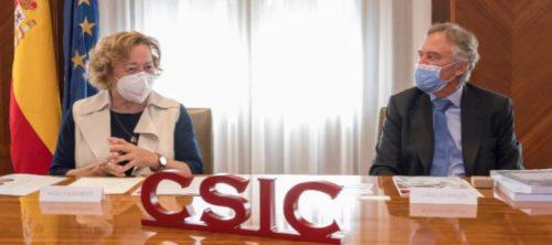 El CSIC reconoce la labor de Fundación Mapfre en la pandemia. Noticias de seguros.