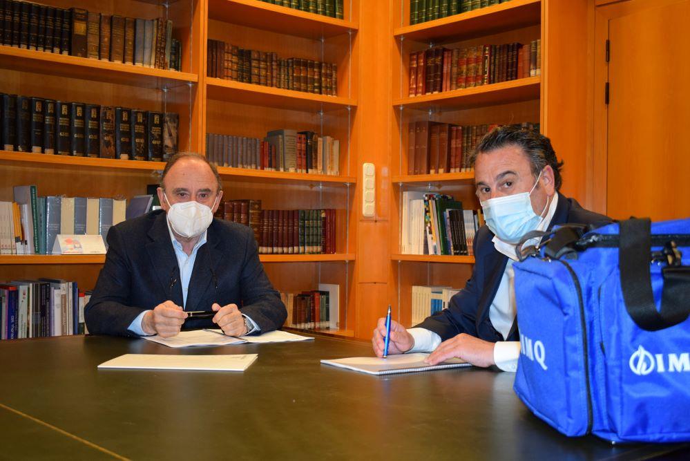 IMQ firma un acuerdo cone l COMGI. noticias de seguros.