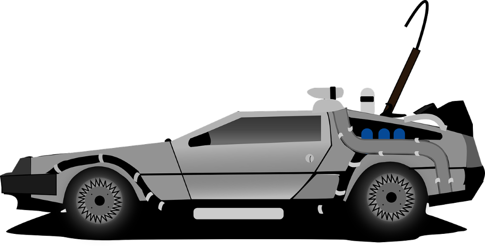 DeLorean, el coche de Regreso al Futuro. Noticias de seguros.