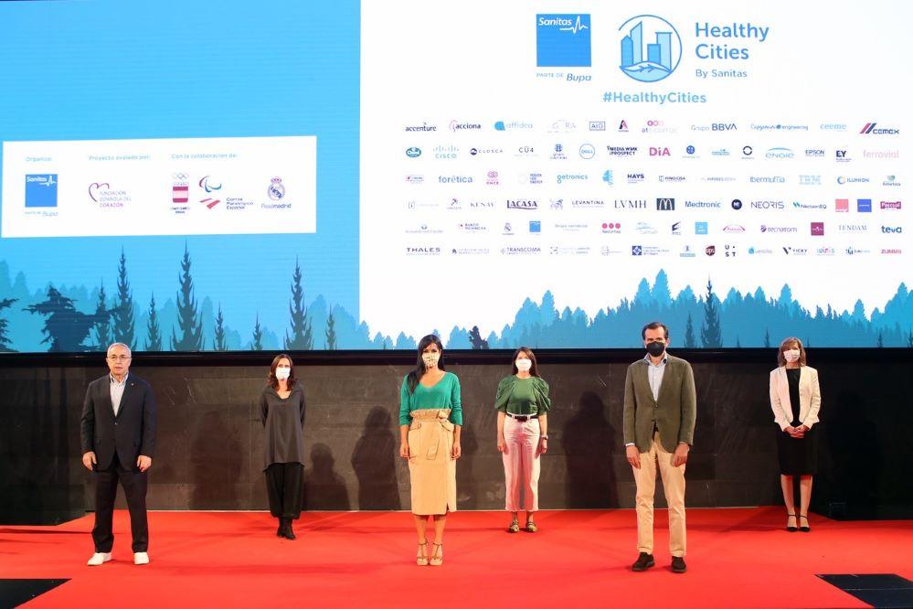 Sanitas lanza una nueva edición de Healthy Cities. Noticias de seguros.