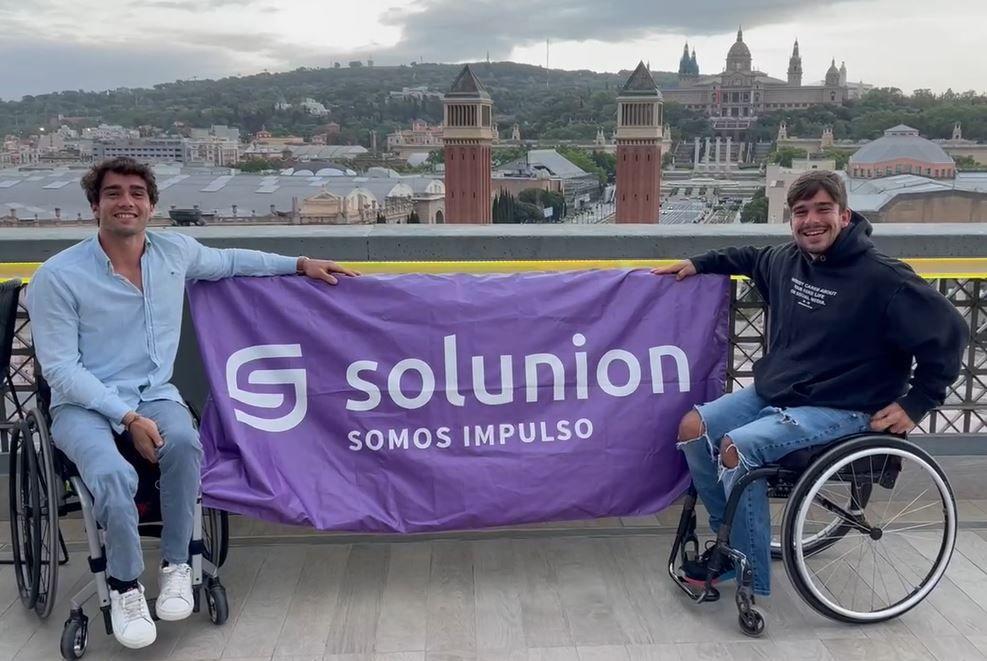 Solunion apoya el tenis en silla de ruedas. Noticias de seguros.