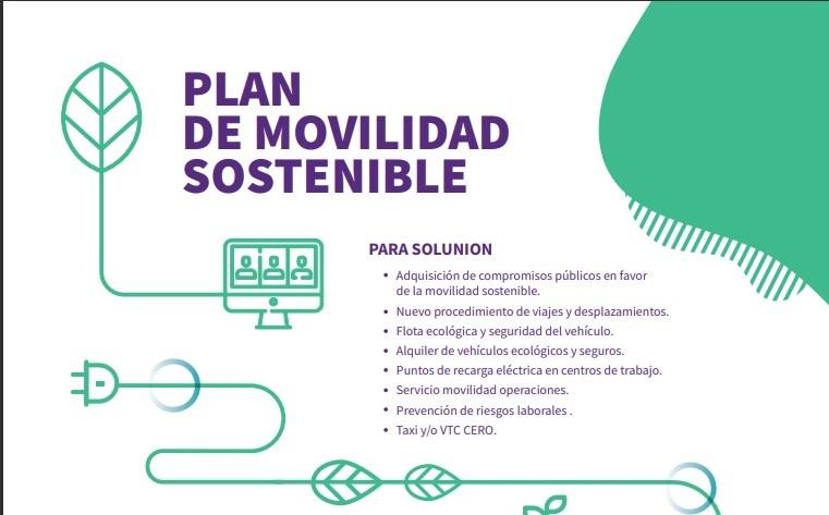Plan de movilidad sostenible de Solunion. Noticias de seguros.