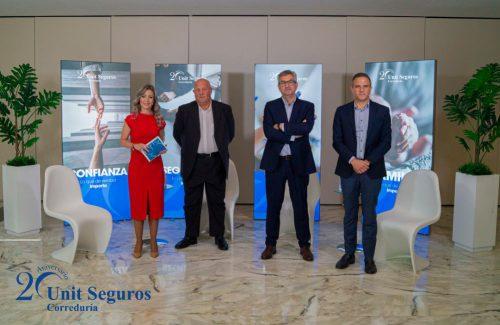 Unit Seguros celebra su 20 aniversario. Noticias de seguros.