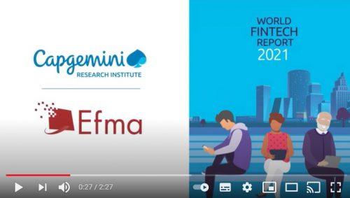 Las FinTech en 2020, según Capgemini y Efma. Noticias de seguros.