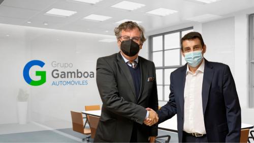 Firma del acuerdo entre ebroker y Grupo Gamboa. Noticias de seguros