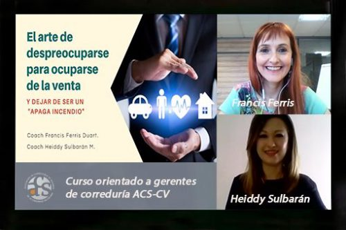 ACS-CV muestra a sus profesionales a relajarse para vender mejor.
