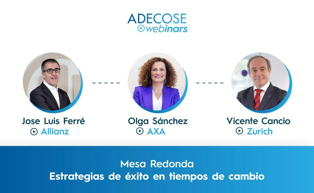 ADECOSE debate sobre la nueva estrategia tras el COVID. Noticias de seguros.