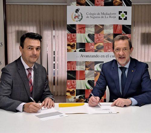 ARAG firma con el Colegio de La Rioja. Noticias de seguros.