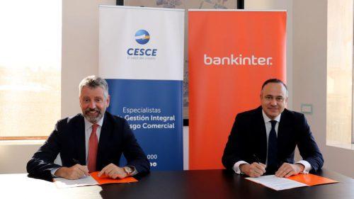 Bankinter y CESCE firman un acuerdo. Noticias de seguros.