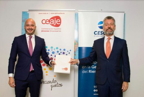 CESCE y CEAJE renuevan su acuerdo de colaboración para mejorar la competitividad de las empresas.