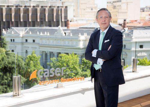 Caser Asesores Financieros amplía su red de agentes en Madrid con la incorporación de Álvaro Merino.