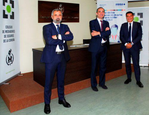 El Colegio de A Coruña renueva con ASISA. Noticias de seguros.